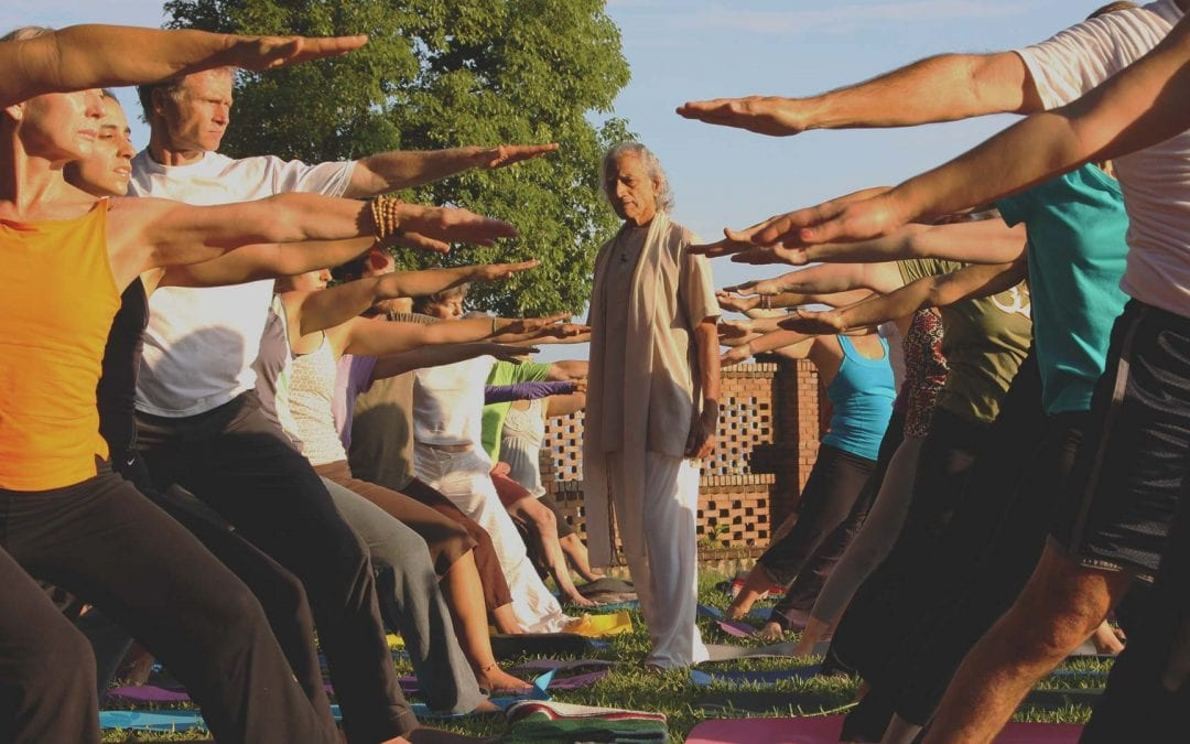 Stress Reduction through Yoga